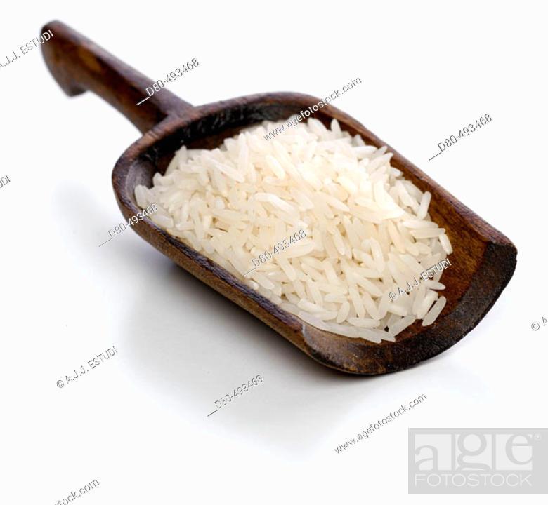 Stock Photo: Basmati rice.