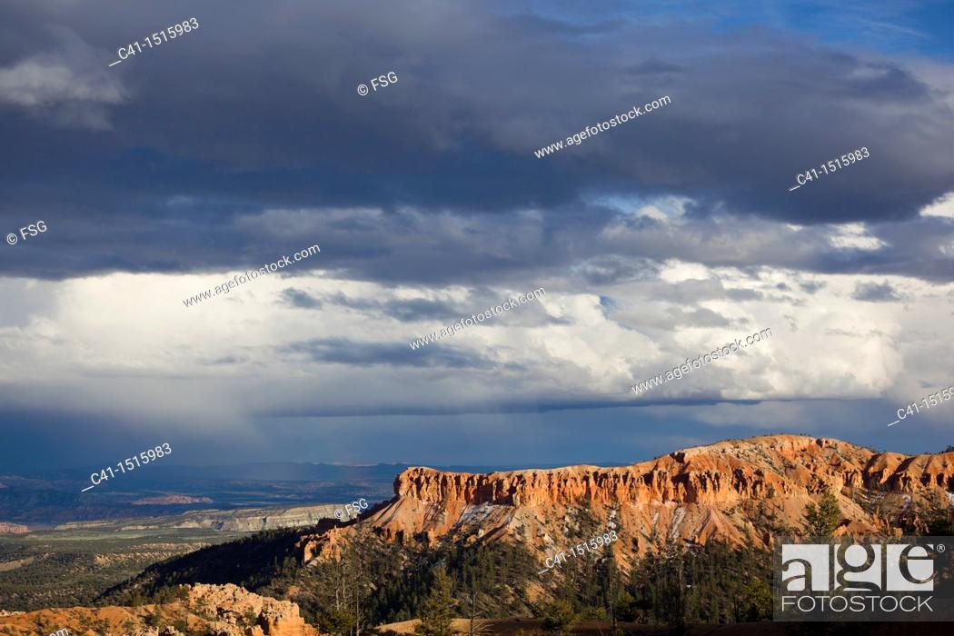 Stock Photo: Bryce NP  Utah, USA.