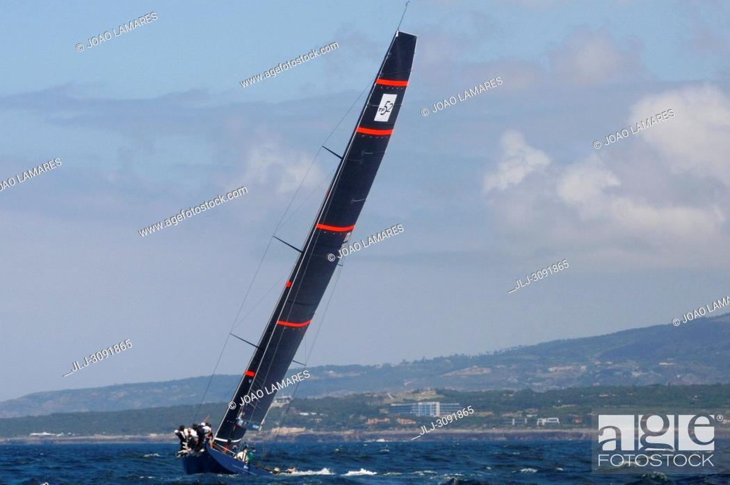 Stock Photo: Azzurra, #01, Owner: Alberto & Pablo Roemmers, Sail nr: ITA280, Yacht Club Costa Smeralda, Builder: King Marine; Rolex TP 52 World Championship.