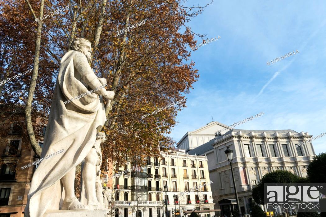 Imagen: Opera House in the Plaza de Oriente, madrid. spain.
