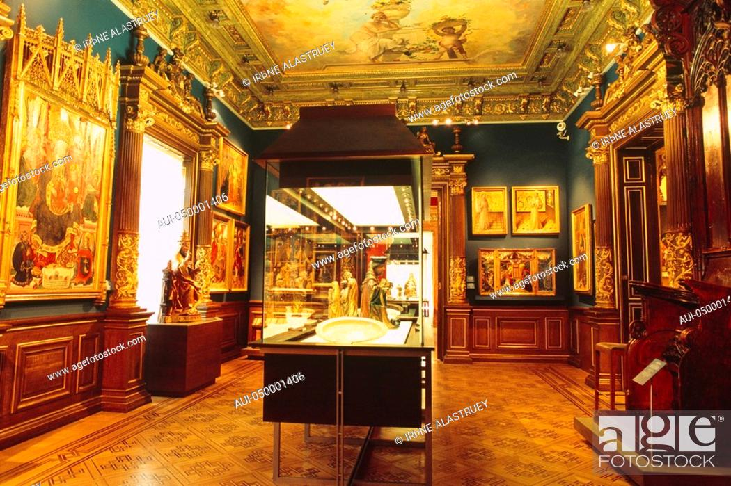 Stock Photo: Spain - Madrid - Castellana district - Lazaro Galdiano Museum - private collection.