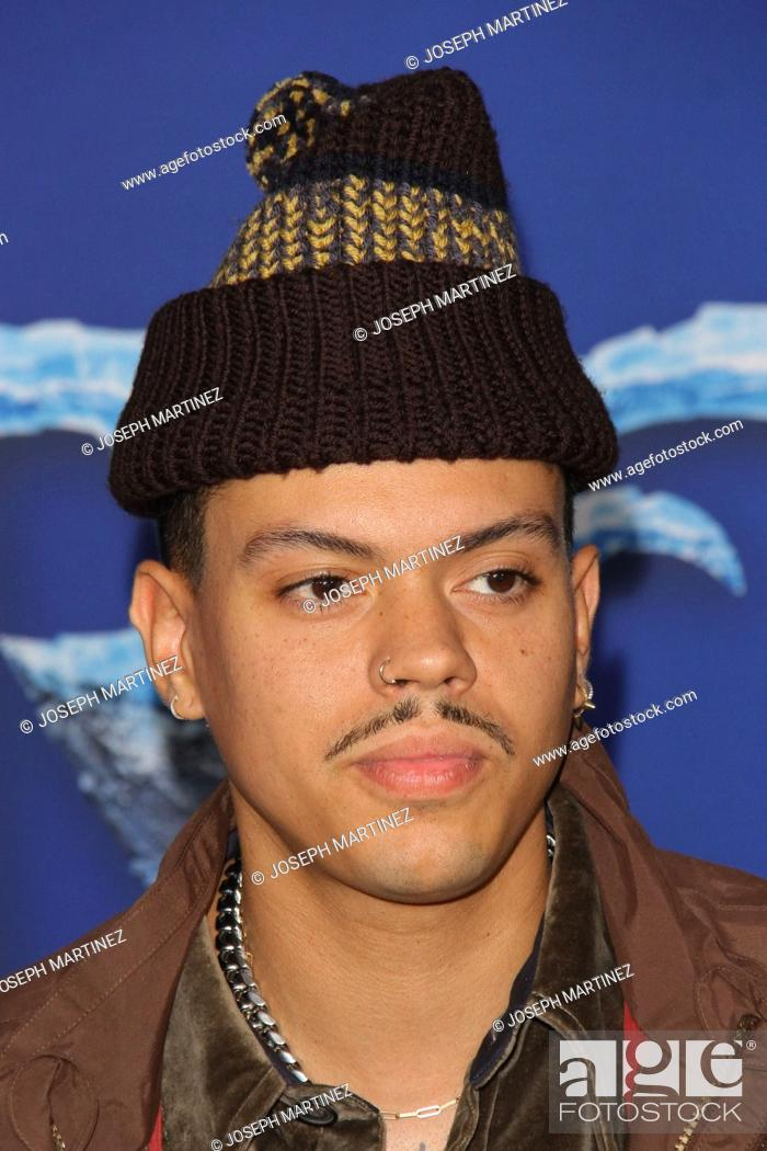 """Stock Photo: Evan Ross at Disney's """"""""Frozen II"""""""" World Premiere held at the Dolby Theatre in Hollywood, CA, November 7, 2019. Photo Credit: Joseph Martinez / PictureLux."""