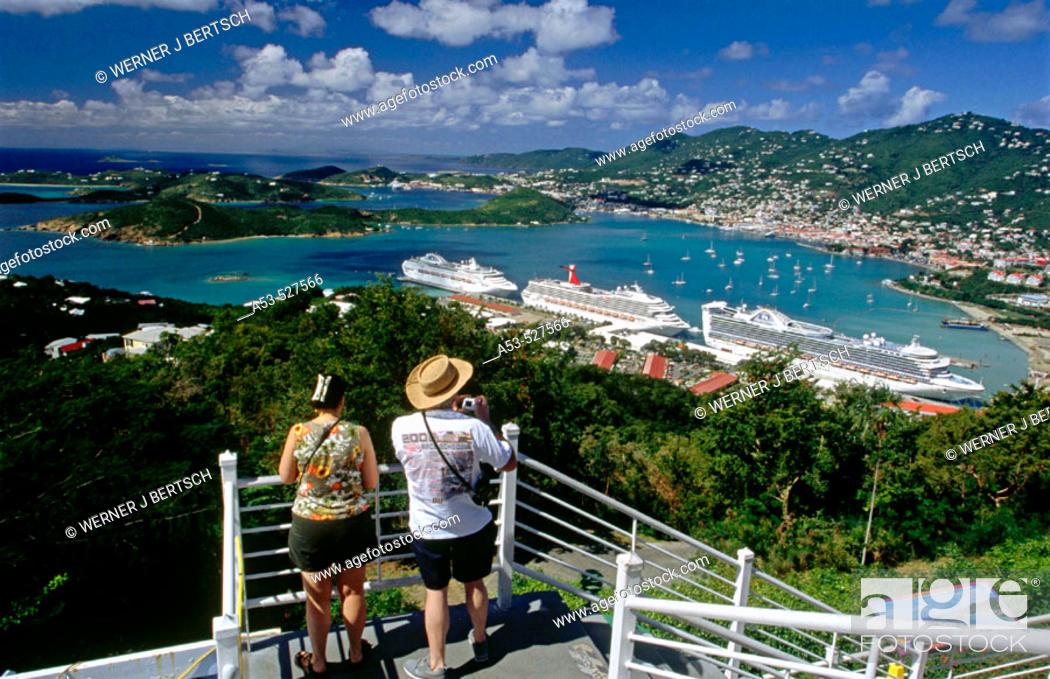 Stock Photo: Charlotte Amalie. St. Thomas Island. U.S. Virgin Islands. West Indies.