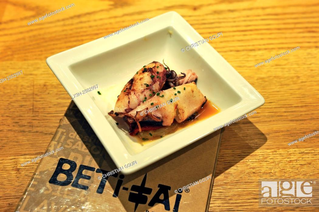Imagen: ''Beti-Jai berria'', pintxos bar and restaurant, 22 Fermin Calbeton street, Old Town, San Sebastian, Bay of Biscay, province of Gipuzkoa, Basque Country, Spain.