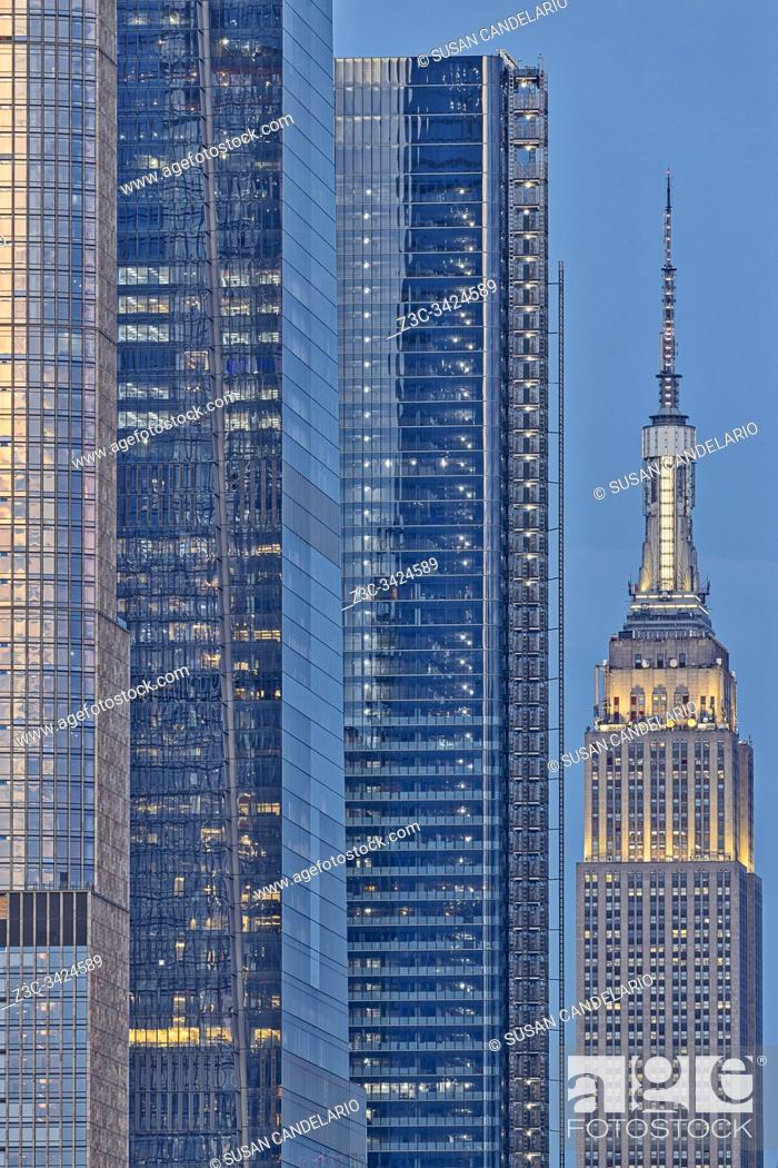 Stock Photo: NYC Empire State Building.