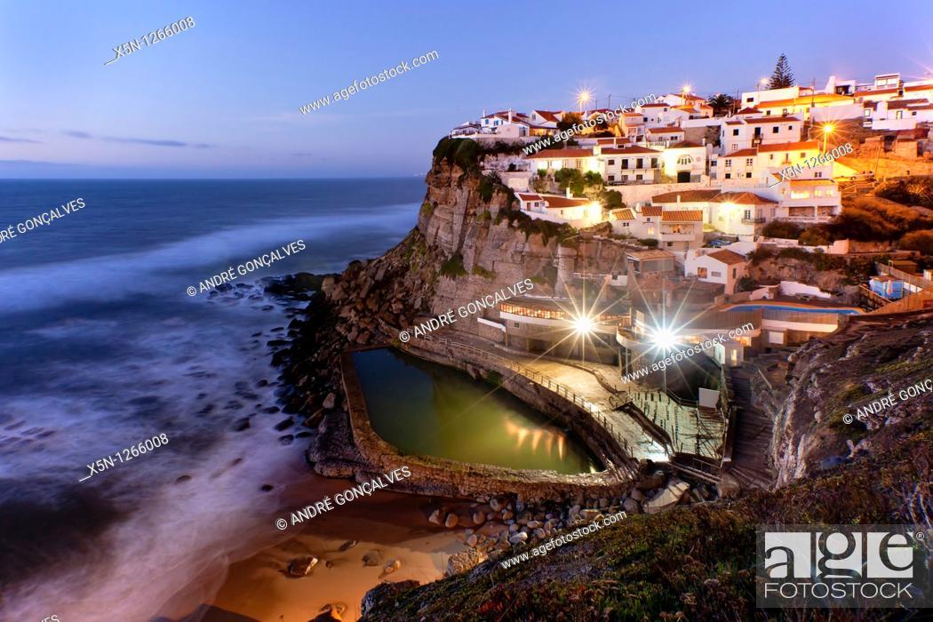 Stock Photo: Azenhas do Mar, Portugal.