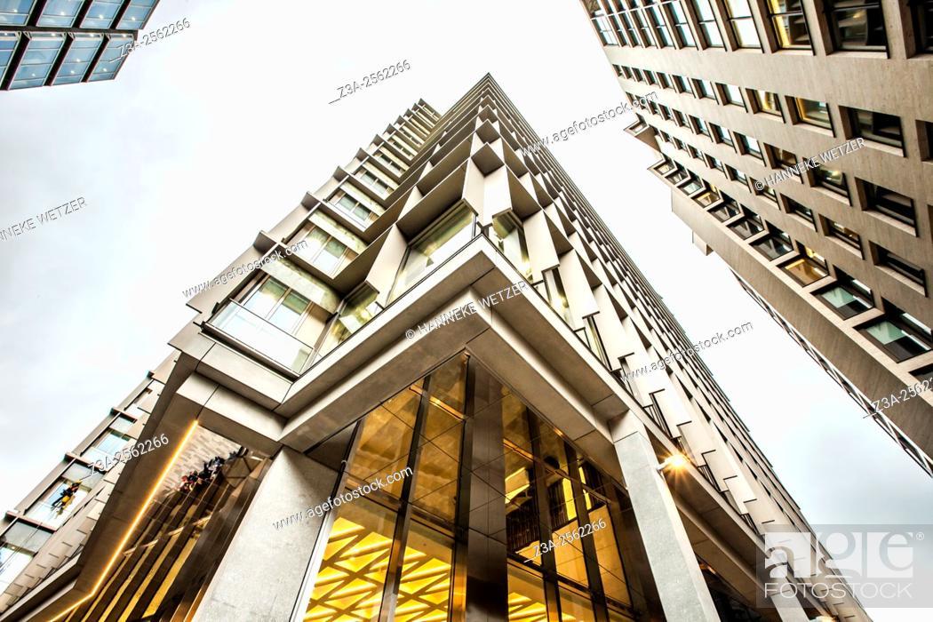Stock Photo: Zig Zag Building, Victoria Street, London, UK.