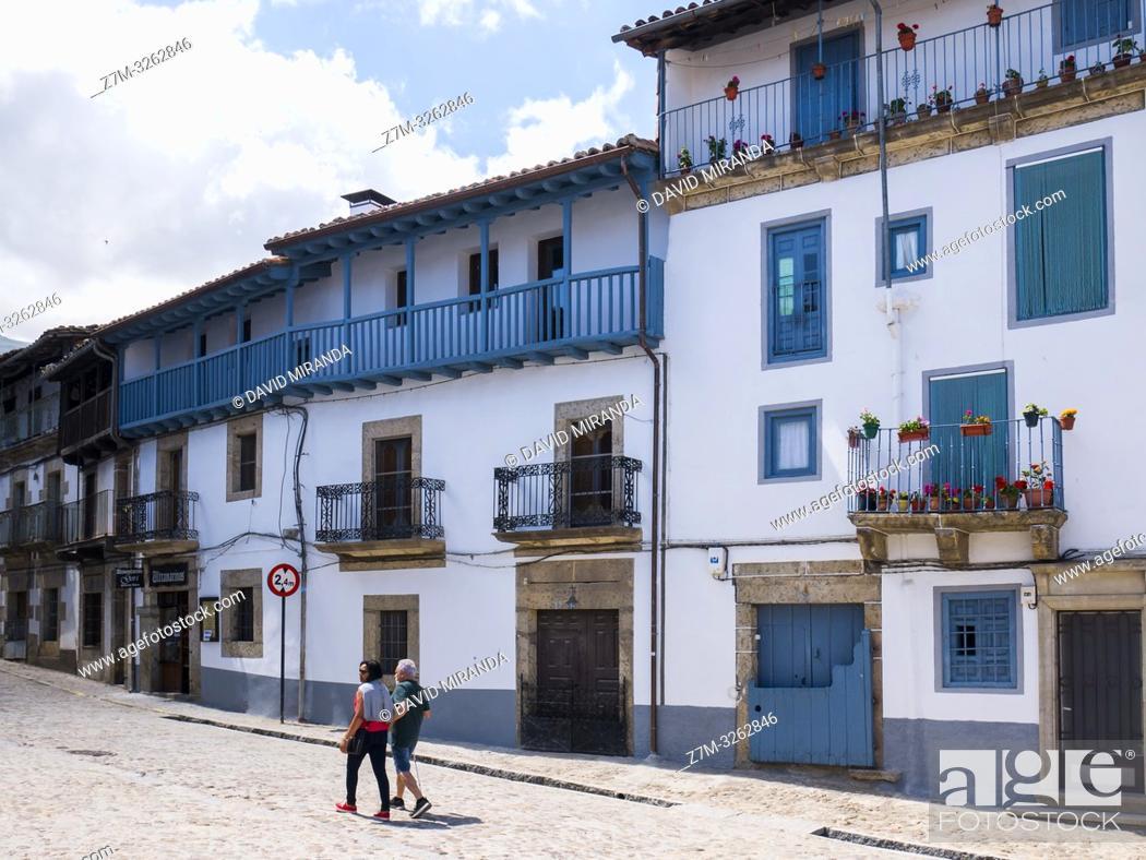 Imagen: Arquitectura tradicional. Candelario. Salamanca. Castilla León. España.