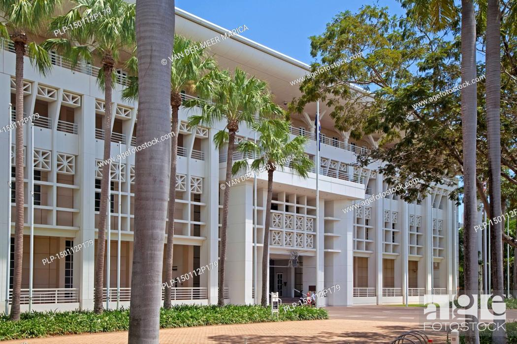 Parliament House in Darwin, seat of the Northern Territory