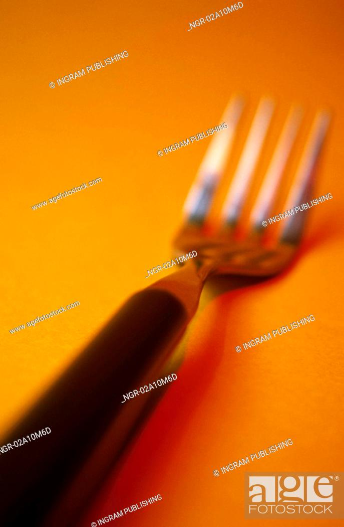 Stock Photo: Fork.