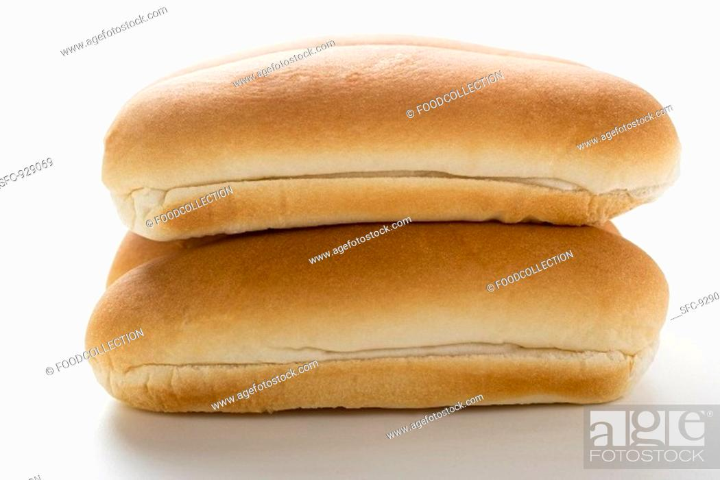 Stock Photo: Hot dog rolls.