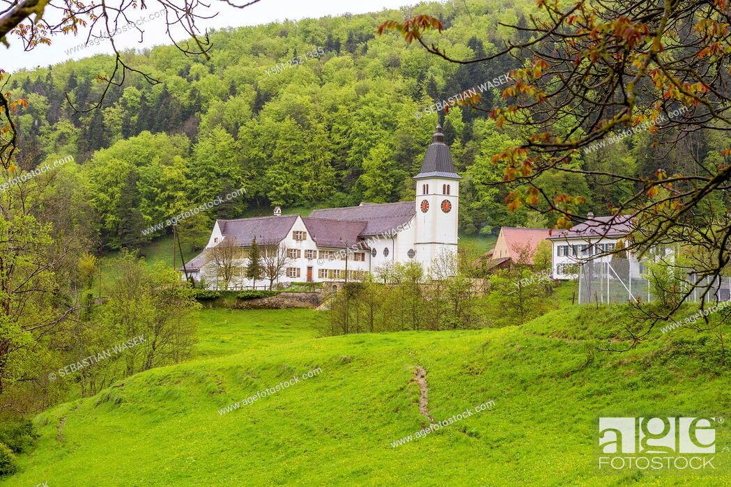 Stock Photo: Beinwil Abbey, Canton Solothurn, Switzerland, Europe.