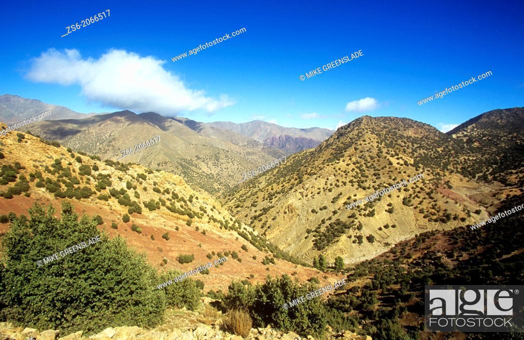 Imagen: Tizi n Test, Atlas Mountains-Morocco.