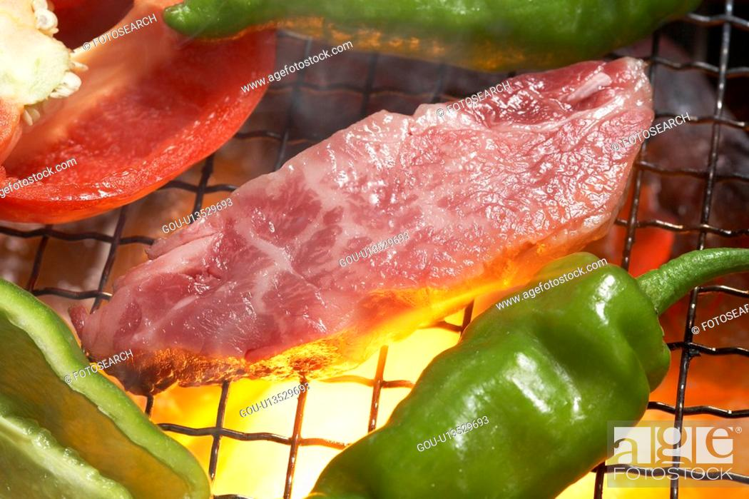 Stock Photo: Yakiniku.