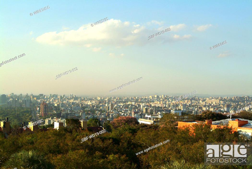 Stock Photo: City, Porto Alegre, Rio Grande do Sul, Brazil.