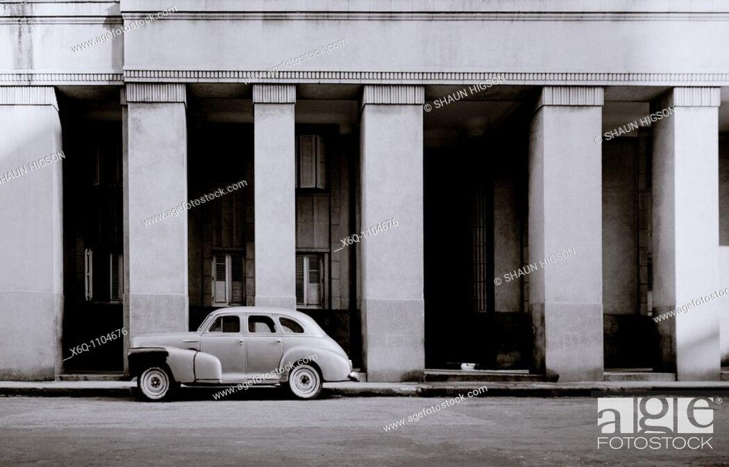 Stock Photo: Havan in Cuba in Central Latin America.