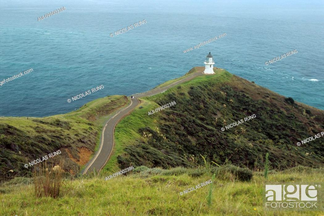 Stock Photo: New Zealand - North Island - Northernland - Cape Reinga - Country's Northernest point.