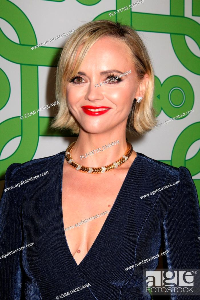 Imagen: Christina Ricci 01/06/2019 The 76th Annual Golden Globe Awards HBO After Party held at the Circa 55 Restaurant at The Beverly Hilton in Beverly Hills.