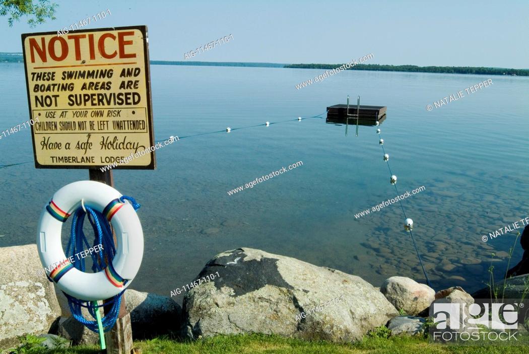 Stock Photo: Manitoulin Island, Ontario, Canada.