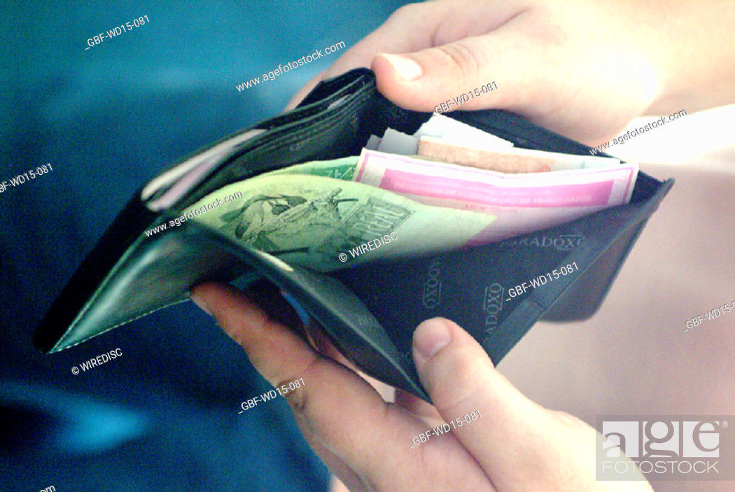 Stock Photo: Businesses Concepts II, wallet, money, Brazil.