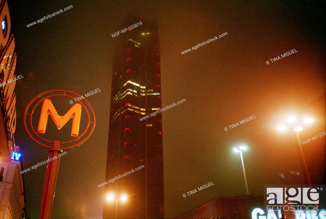 Stock Photo: Paris at night.