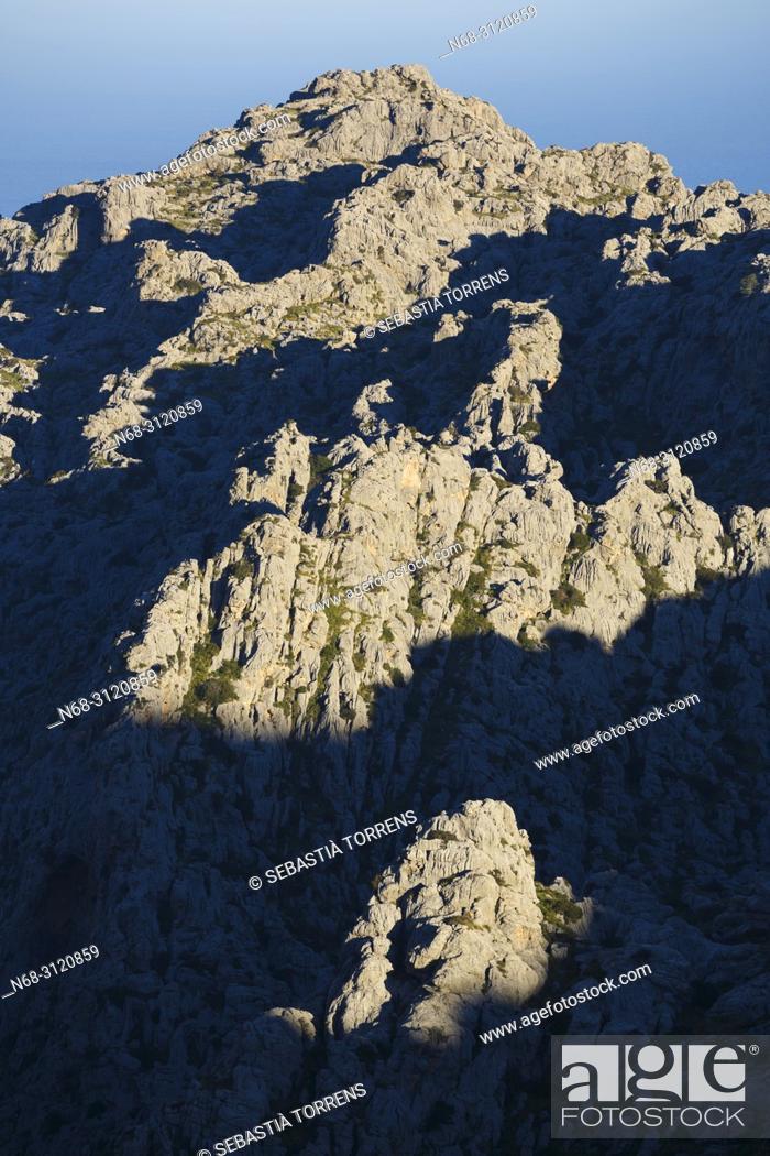 Stock Photo: Serra de Tramuntana, Escorca, Majorca, Balearic Islands, Spain.