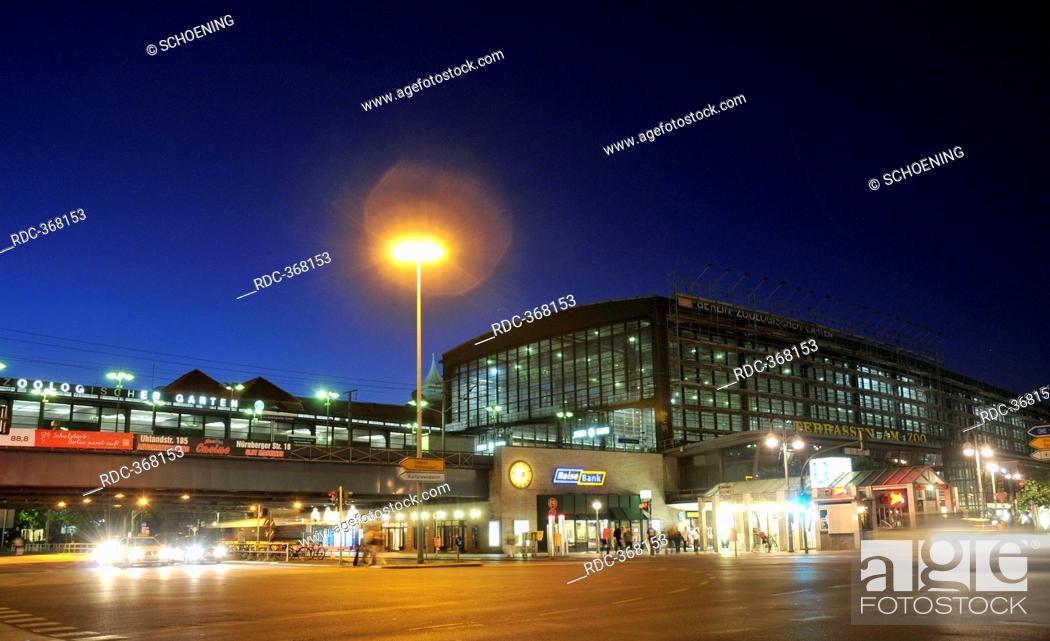 Bahnhof Zoo Berlin Zoologischer Garten Railway Station