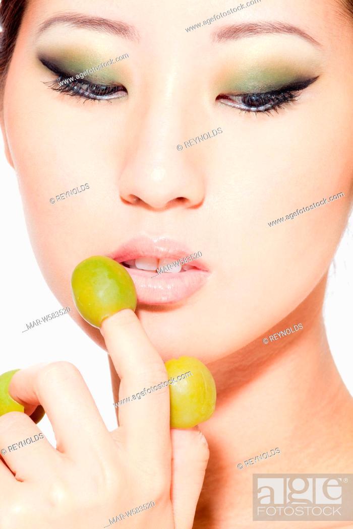 Stock Photo: ritratto di donna.