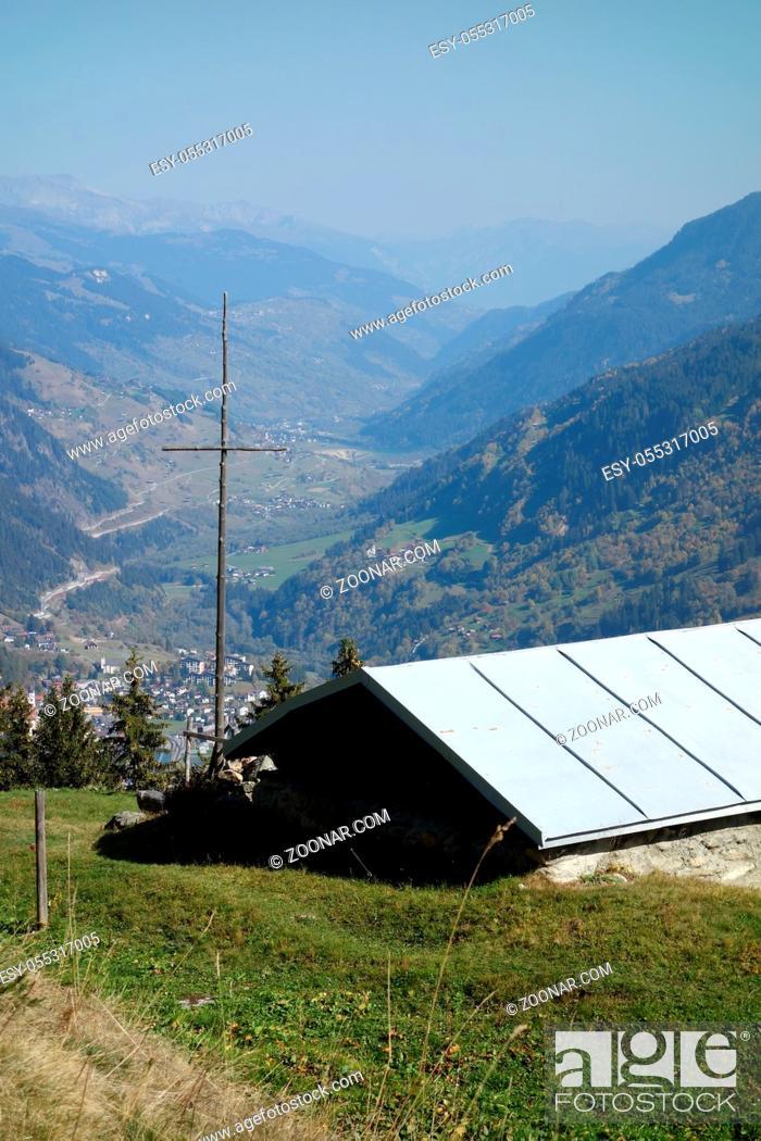 Photo de stock: in den schweizer Alpen.