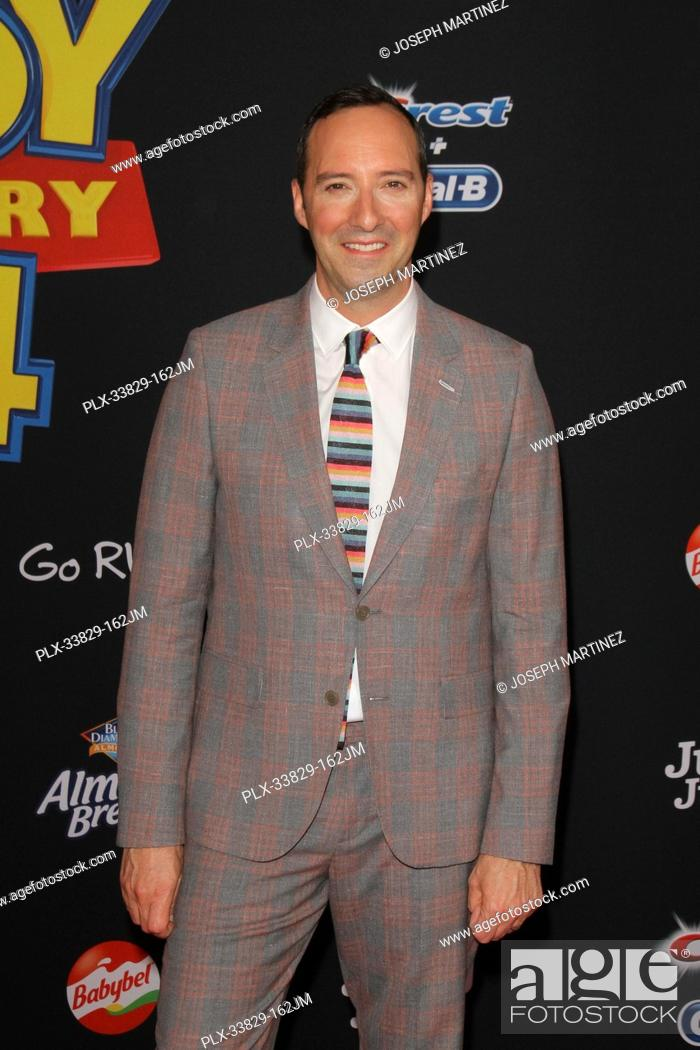 "Stock Photo: Tony Hale at Disney/Pixar's """"Toy Story 4"""" World Premiere held at El Capitan Theatre, Hollywood, CA, June 11, 2019. Photo Credit: Joseph Martinez / PictureLux."
