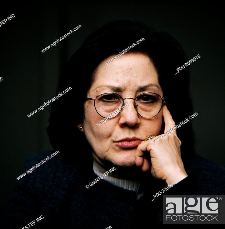 Stock Photo: Hostile Woman.