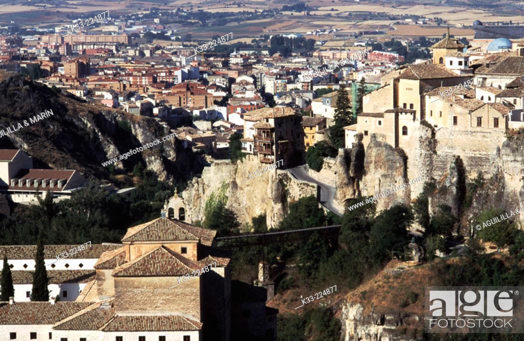 Stock Photo: Cuenca. Spain.