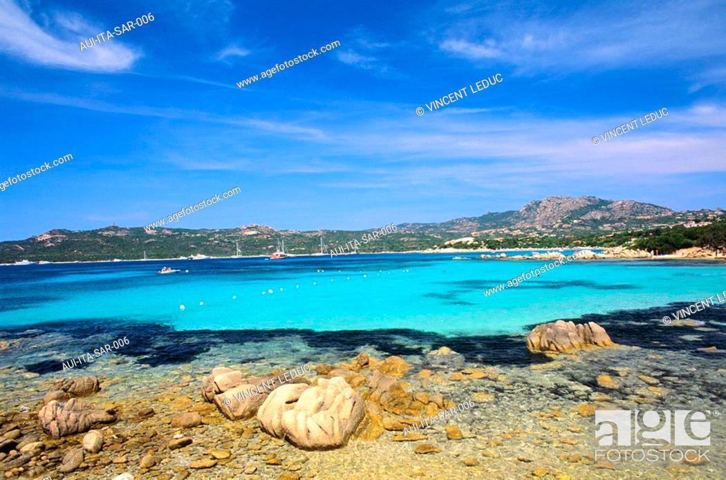 Stock Photo: Italy - Sardinia - North Region - Costa Smeralda - Arzachena - Capriccioli.