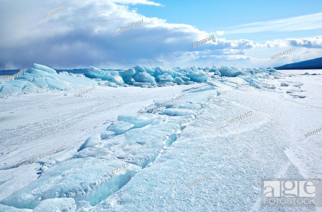 Stock Photo: Winter Baikal.