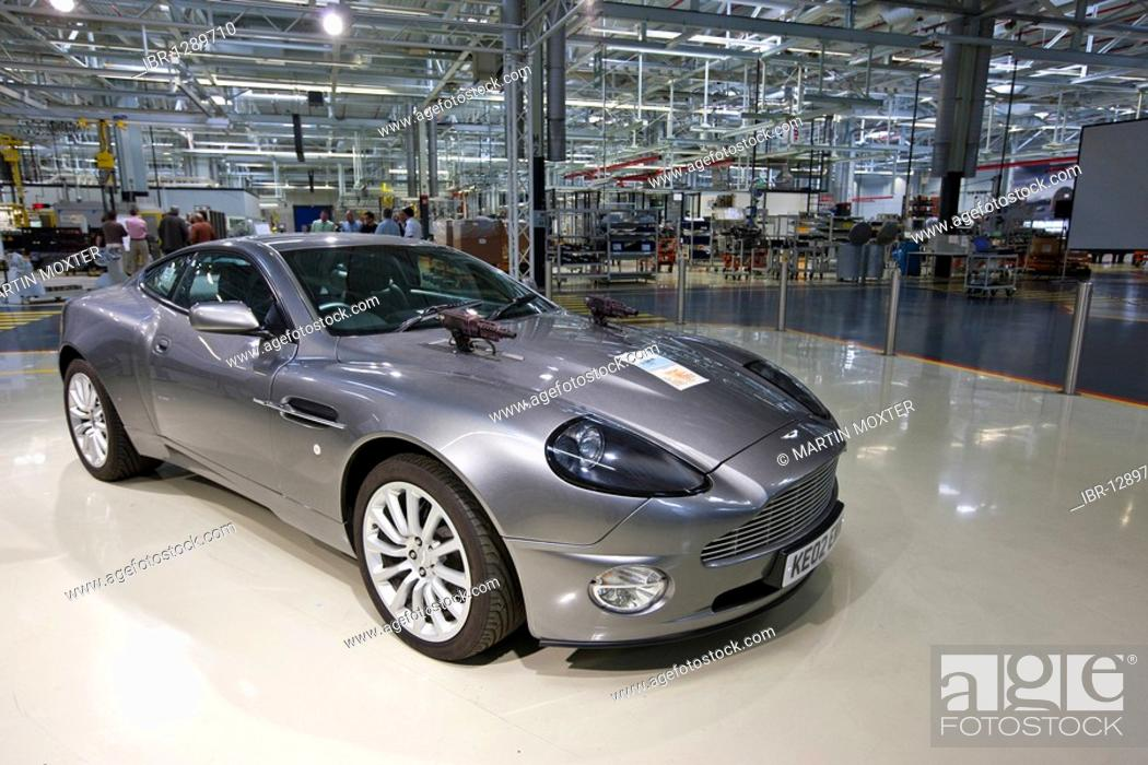 Aston Martin Vanquish With Machine Guns From A James Bond Film Aston Martin Engine Plant In Cologne Stock Photo Picture And Rights Managed Image Pic Ibr 1289710 Agefotostock