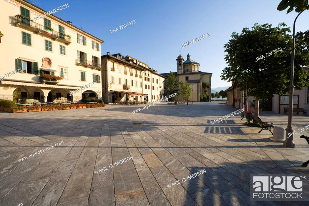 Stock Photo: Cannobio, Lake Maggiore, Piedmont Piemonte, Italy, Europe.