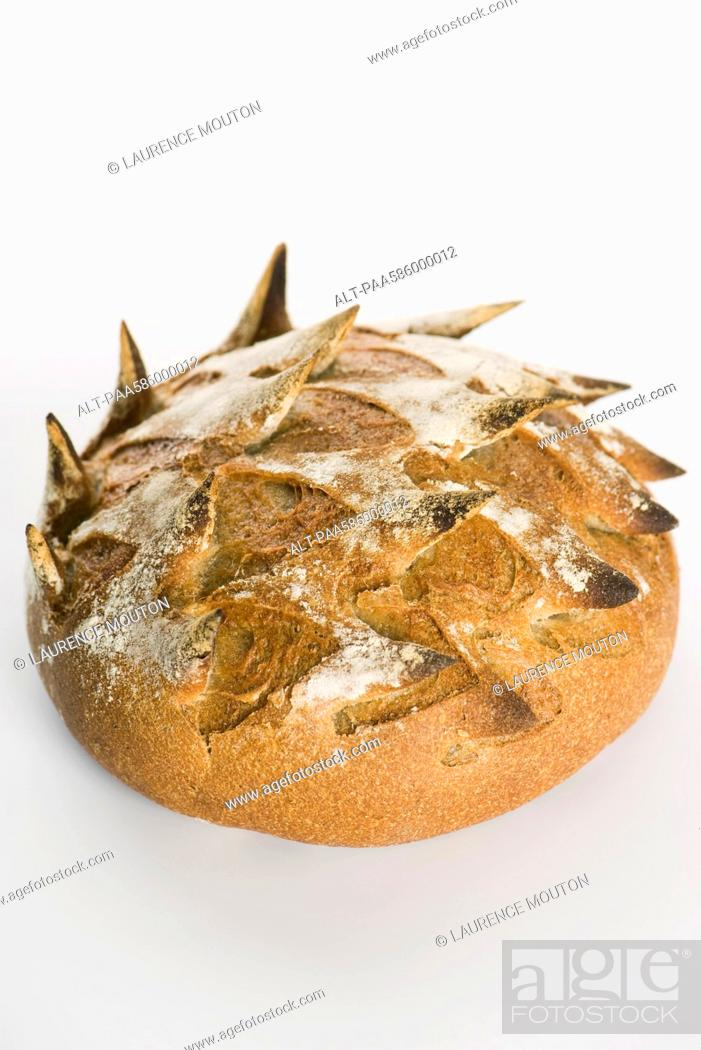 Stock Photo: Crusty bread.