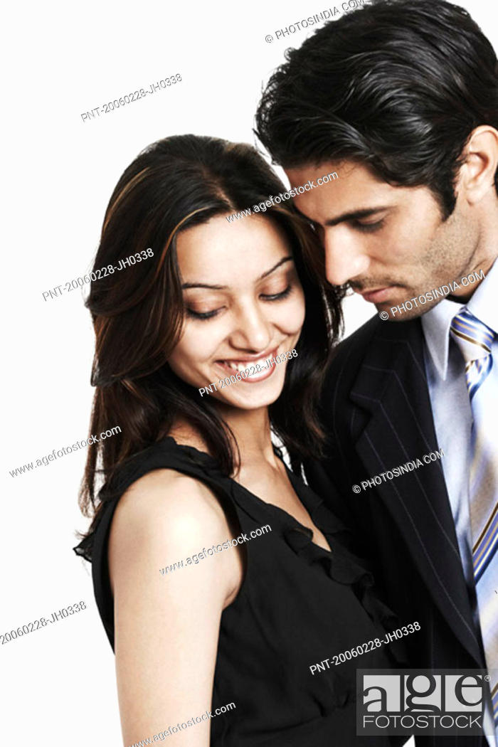 Stock Photo: Close-up of a businessman with a businesswoman.