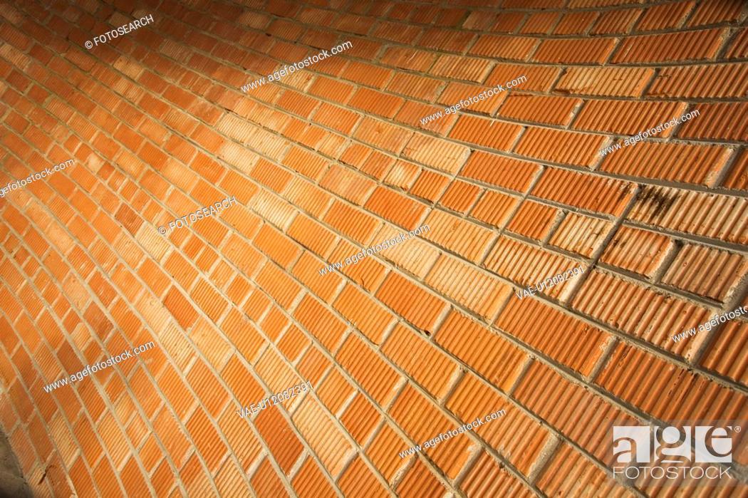 Stock Photo: Brick, Close-Up, Construct, Design.