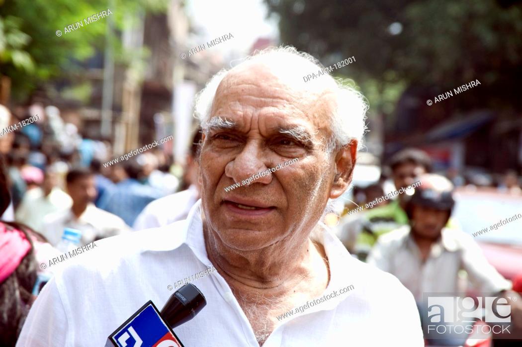 Indian Bollywood director Yash Raj Chopra Mumbai Maharashtra