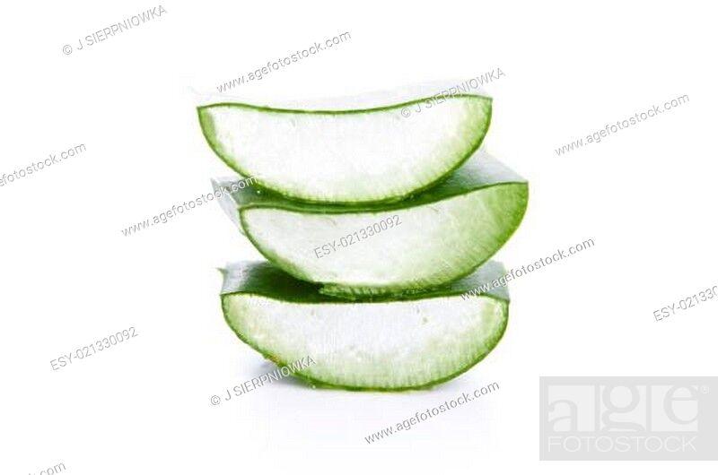 Imagen: Aloe vera - herbal medicine.