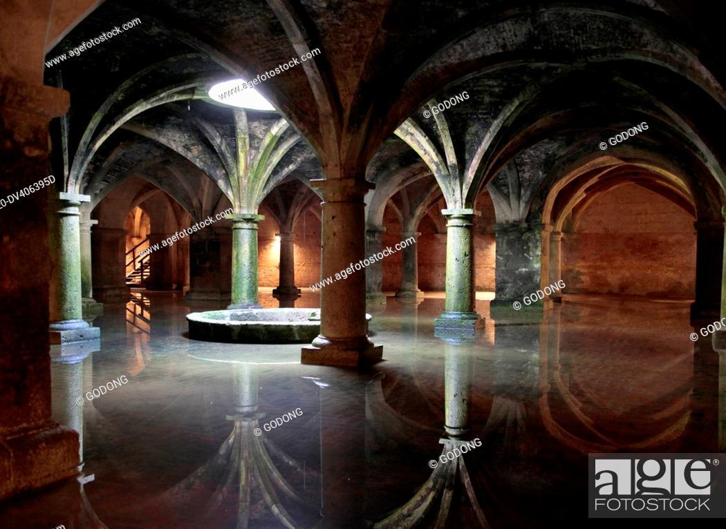 Stock Photo: El Jadida cistern, Morocco.