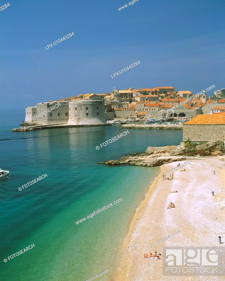 Stock Photo: Old City of Dubrovnik.