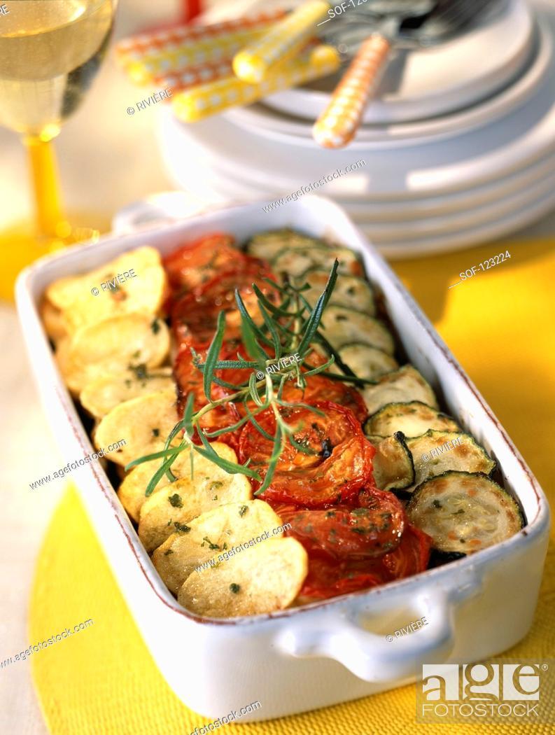 Stock Photo: Vegetable Tian.