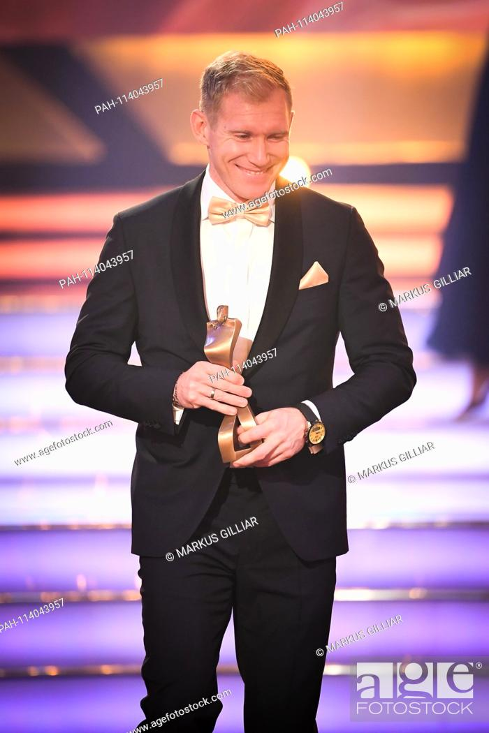 Stock Photo: Arthur Abele (Third Athlete of the Year, Decathlon). GES / Sports General / Sportsman of the Year 2018, 16.12.2017 Sport: German Award Sportspersonality of the.