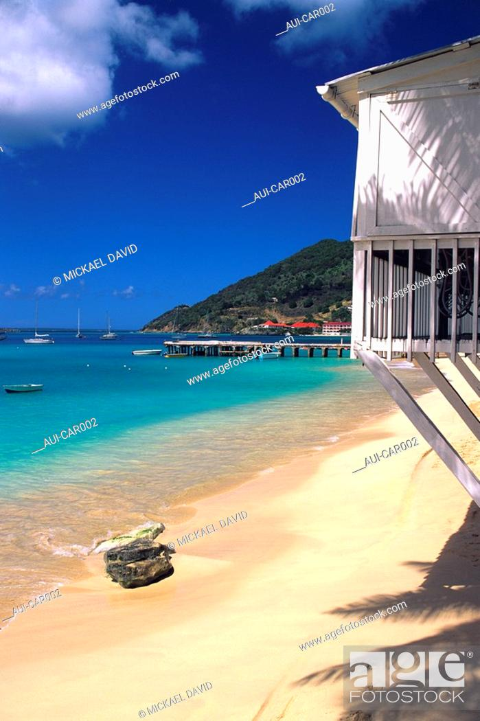 Stock Photo: Caribbean - Saint Martin.