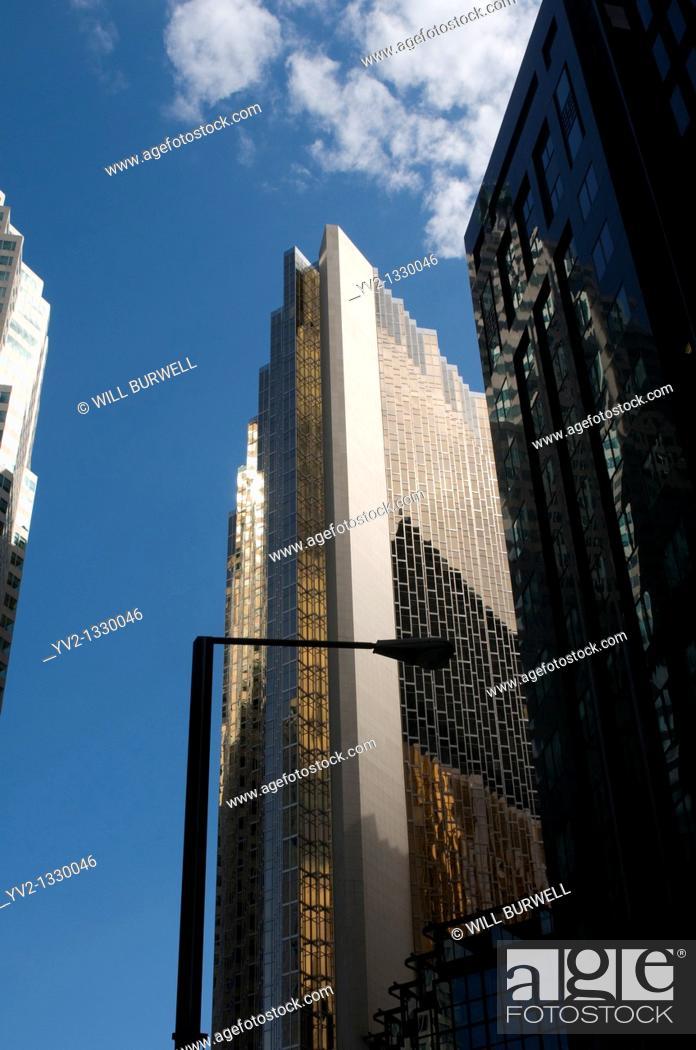 Stock Photo: Sky Scrapper in Toronto Ontario Canada.