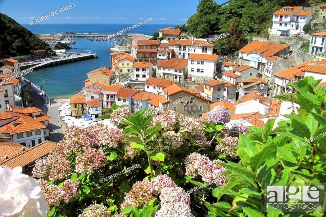 Stock Photo: Cudillero, Asturias, Spain, Europe.