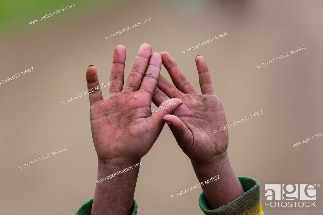 Stock Photo: Dorze people, Naciones, Etiopia, Africa.