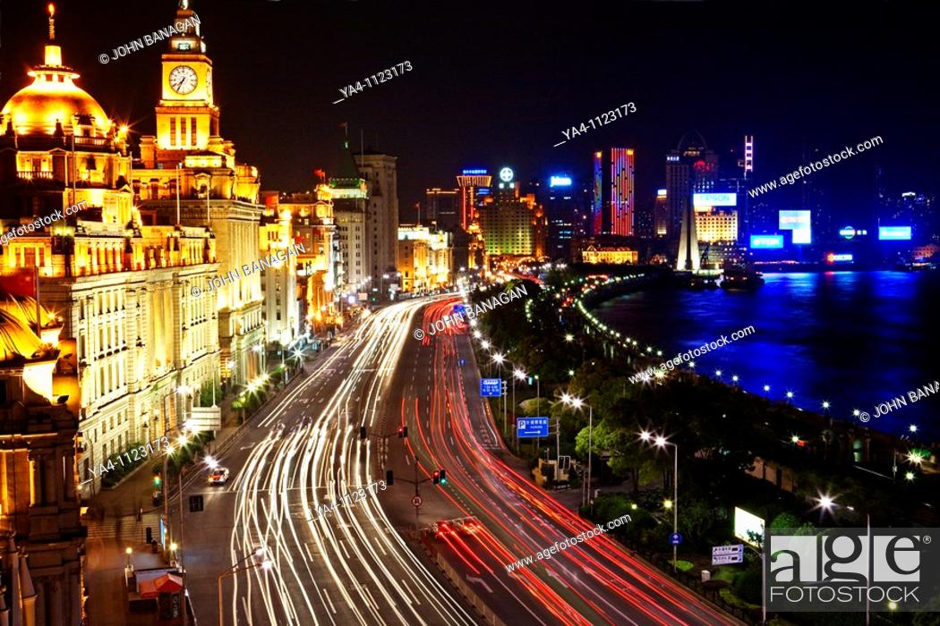 Stock Photo: The Bund, Shanghai.